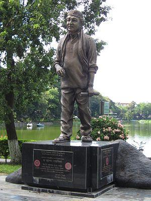 Bhupen Hazarika - Bhupen Hazarika Statue