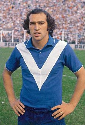 Carlos Bianchi - Bianchi in Vélez Sársfield, c. 1970.