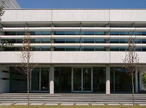 Glass fiber reinforced concrete - Image: Biblioteca Public Library Lope de Vega (Tres Cantos). 01