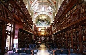 Universidad Michoacana de San Nicolás de Hidalgo - Public library UMSNH.
