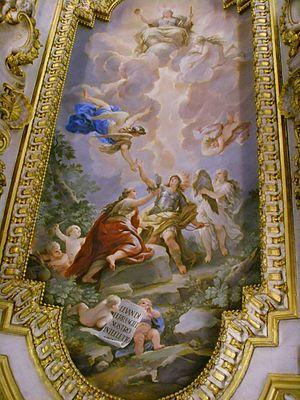 Biblioteca Riccardiana - Image: Biblioteca Riccardiana, Luca Giordano, affreschi