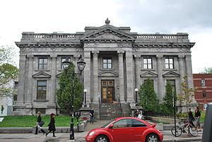 Hochelaga-Maisonneuve - Maisonneuve library