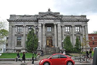 Mercier–Hochelaga-Maisonneuve - Maisonneuve library