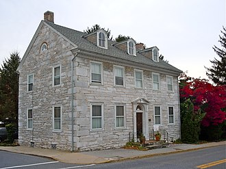 National Register of Historic Places listings in Lebanon County, Pennsylvania - Image: Biever Annville Leb Co PA