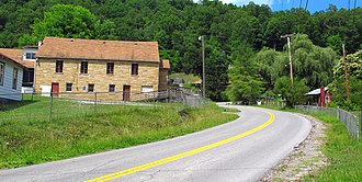 Big Sandy, West Virginia - Davy Roderfield Road in Big Sandy