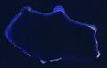 Bikini Atoll 2001-01-14, Landsat 7 ETM+.png