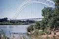 Birchenough Bridge over River Sabi, Rhodes. 1960 (37788906641).jpg