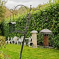 Bird feeders at Nuthurst West Sussex England.jpg