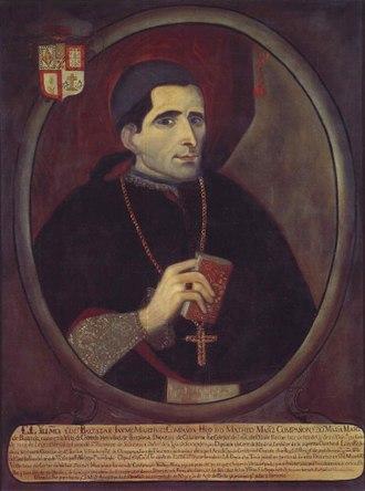 Baltasar Jaime Martínez Compañón - Image: Bishop Martínez Compañón