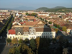 Skyline of Bistrița