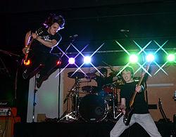 Black Blitz live