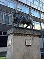 Black Bull Figure Outside The Ravenscourt Arms Public House, Historic England Listing Grade II, UID 1079786.jpg