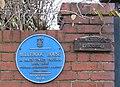 Blue Plaque, Millbrook House - geograph.org.uk - 639315.jpg
