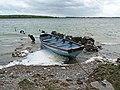 Boat on Lough Carra - geograph.org.uk - 2410678.jpg