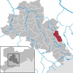 Bobritzsch-Hilbersdorf - Image: Bobritzsch Hilbersdorf in FG