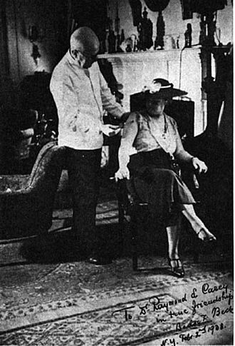 Bodog F. Beck - Beck treating a patient