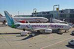 Boeing 737-8Q8(w) '9Y-TAB' Caribbean Airlines (25449561180).jpg