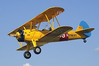 Boeing-Stearman Model 75 - Boeing Stearman N67193 in USN markings