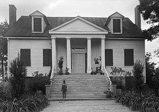 Boligee Hill historic plantation house near Boligee, Alabama