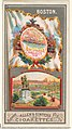 Boston, from the City Flags series (N6) for Allen & Ginter Cigarettes Brands MET DP829247.jpg