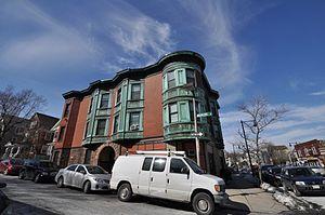 Sarah Davidson Apartment Block - Image: Boston MA Sarah Davidson Apartment Block
