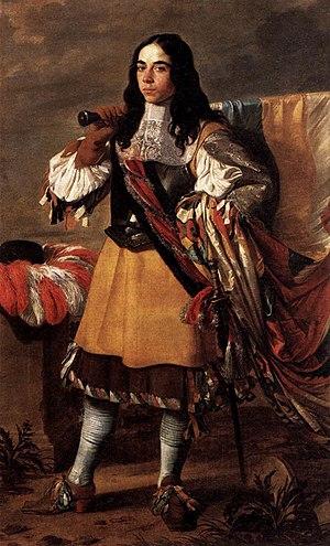Victor Boucquet - The Standard Bearer (1664) by Vigor Boucquet, Musée du Louvre