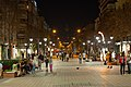Boulevard Vitosha at night, Sofia PD 2012 19.jpg