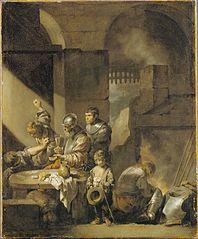 A Brawl in a Guard-room
