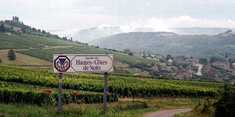 Burgundy wine - Burgundy vineyards: The Hautes-Côtes de Nuits