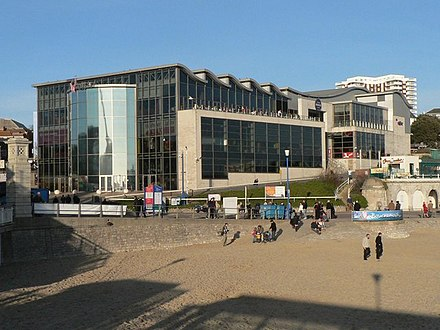 The Waterfront Cinema and Leisure Complex. (Now demolished) Bournemouth, the Waterfront building - geograph.org.uk - 670298.jpg