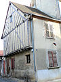 Boussac (Creuse) - Maison à pans de bois.JPG