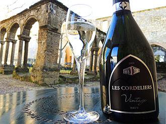 Sparkling wine - Crémant de Bordeaux Blanc Brut Les Cordeliers