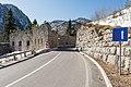 Bovec Strmec na Predelu Fort Hermann mit Strasse 10032015 0565.jpg