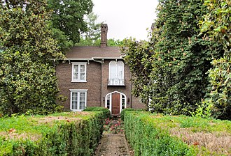 Branner-Hicks House - The Branner-Hicks House in 2015