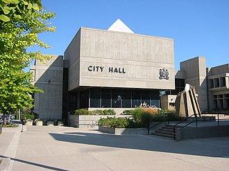 Brantford - Image: Brantford city hall