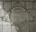 Brasão de armas de D. Teodósio, Duque de Bragança (Chafariz da Praça da República, Alter do Chão) (cropped).png