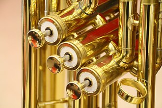 Brass instrument - Brass instrument piston valves