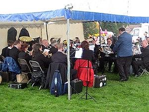 English: Brass Band, 109th Poynton Show Music ...