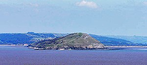Brean Down - Brean Down from Steep Holm