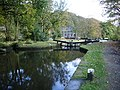 Brearley Upper Lock No6, on the Rochdale Canal - geograph.org.uk - 1055916.jpg