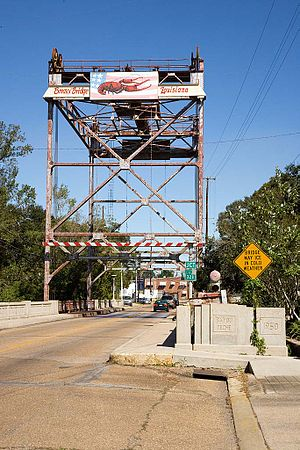 Breaux Bridge, Louisiana - Bridge over Bayou Teche, Breaux Bridge, Louisiana