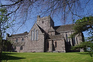 Brecon Cathedral Church in Brecon, Wales