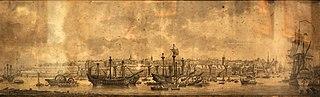 Brest, le port en Penfeld