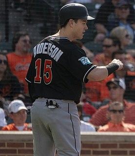 Brian Anderson (third baseman) American baseball player