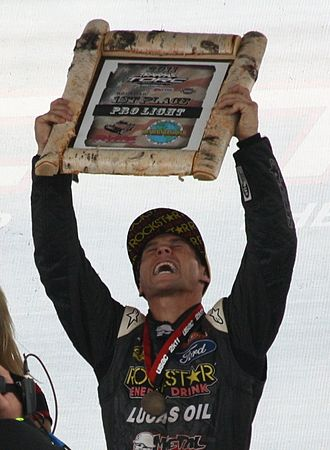 Brian Deegan (rider) - Deegan in 2011 after winning the Pro Light class at the 2011 Off-Road racing World Championships