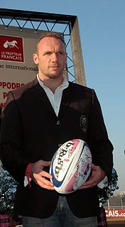 Brian Liebenberg Rugby player