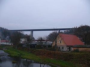 Velké Meziříčí - Image: Bridge.Vysočina.2