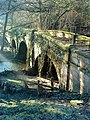 Bridge over River Skell near Rough House - geograph.org.uk - 1716837.jpg