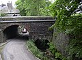 Bridge taking Holcombe Road over the Sunnybank Mill access road - geograph.org.uk - 458364.jpg