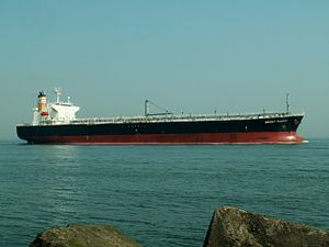 Bright Pacific p4 approaching Port of Rotterdam, Holland 04-May-2006.jpg